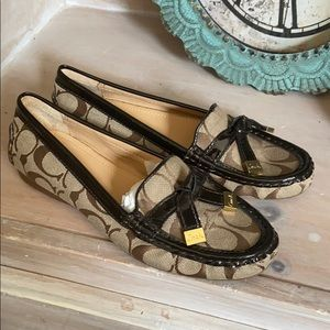 Coach Frida Loafers Shoes NEW Women's 6.5